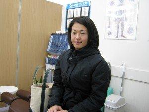 31歳女性  腰痛・首の痛み