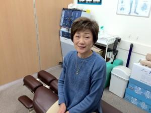 61歳女性 腰痛